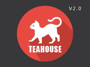 博客全屏主题teahouse